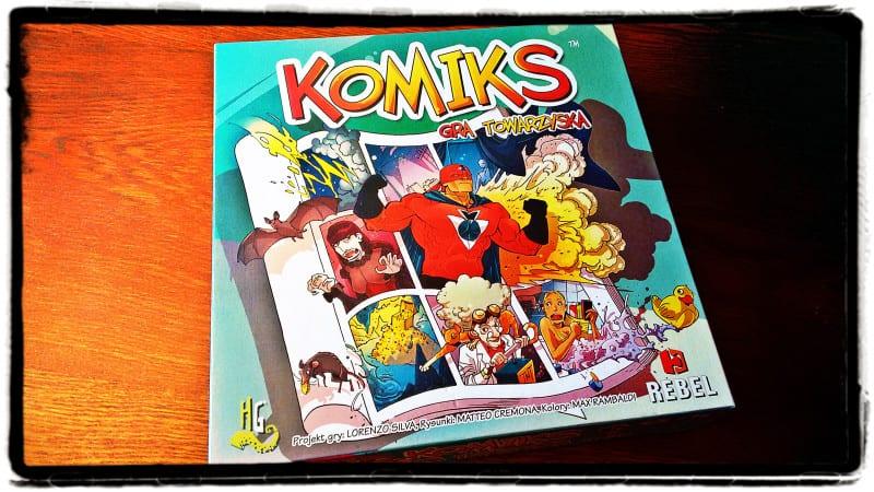 Gramy #17: Komiks. Gra towarzyska