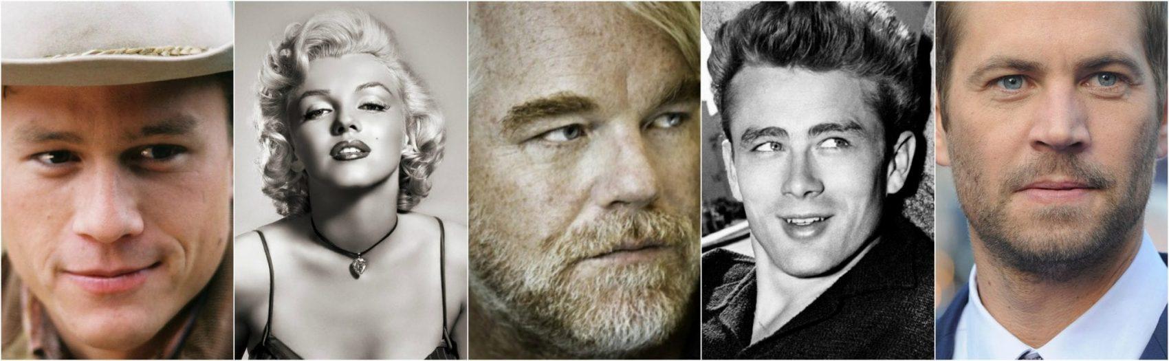 TOP 10 aktorów, którzyodeszli zbyt wcześnie