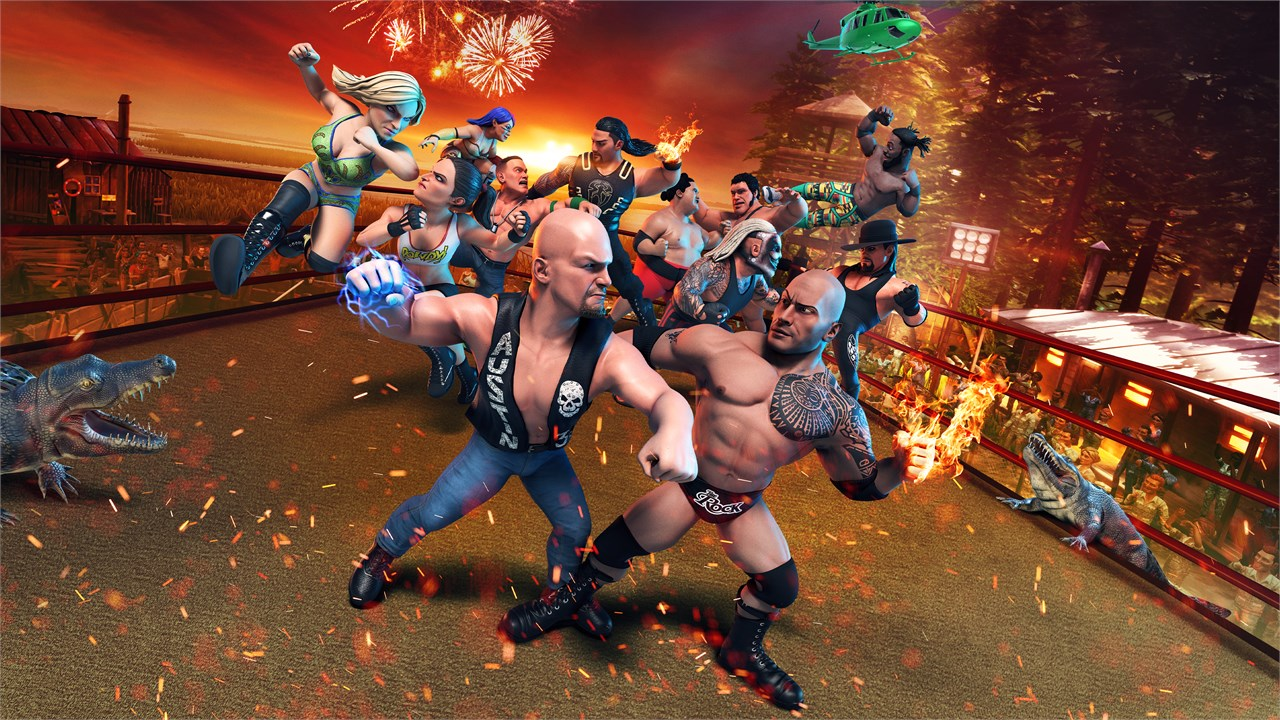 Okiem Geeka #31: WWE 2K Battlegrounds